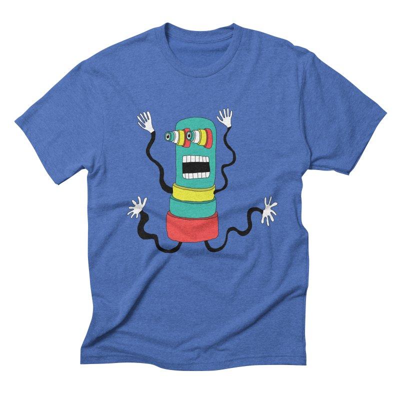 Sir Wiggleworth  Men's Triblend T-Shirt by Camilla Barnard's Artist Shop