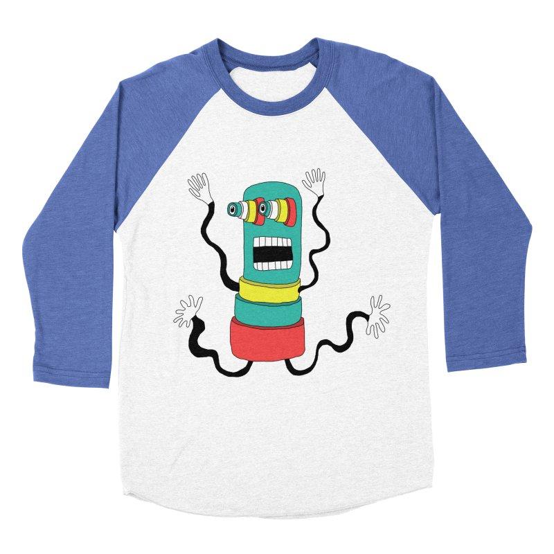 Sir Wiggleworth  Men's Baseball Triblend T-Shirt by Camilla Barnard's Artist Shop