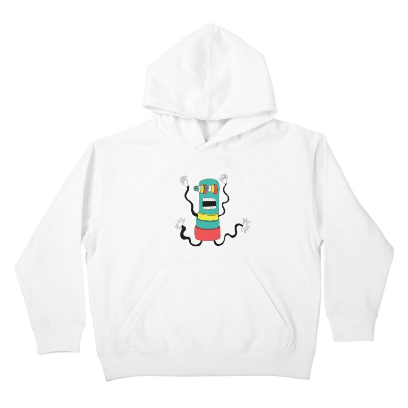 Sir Wiggleworth  Kids Pullover Hoody by Camilla Barnard's Artist Shop