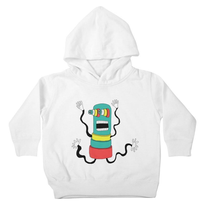 Sir Wiggleworth  Kids Toddler Pullover Hoody by Camilla Barnard's Artist Shop