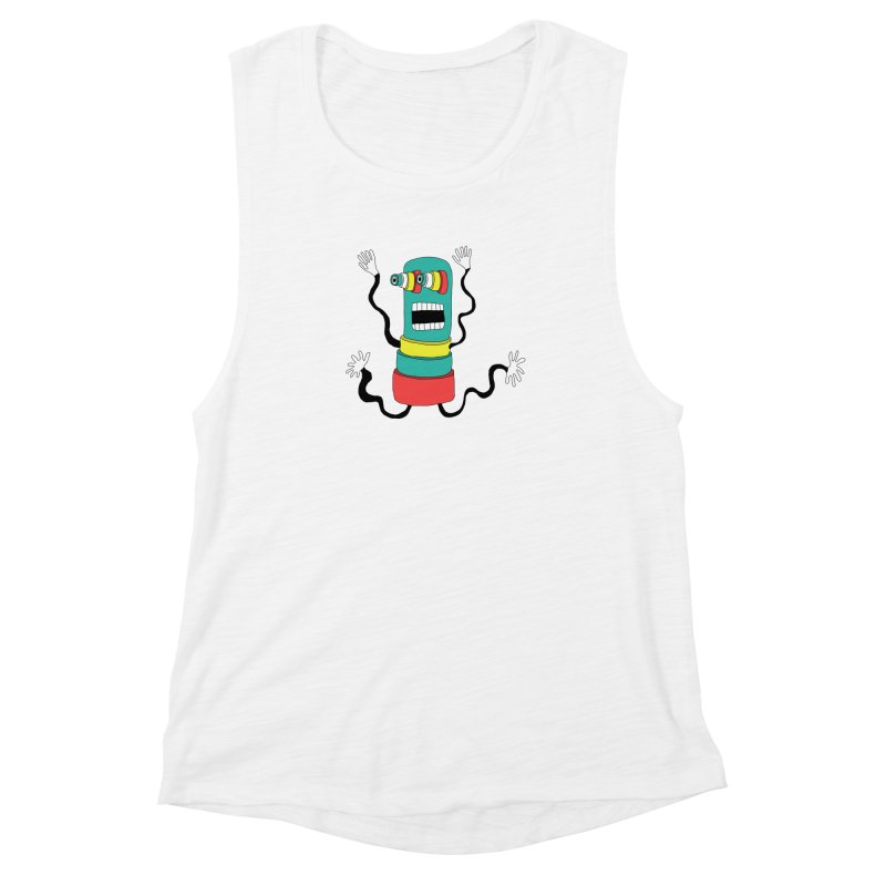 Sir Wiggleworth  Women's Muscle Tank by Camilla Barnard's Artist Shop