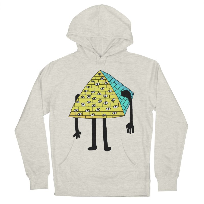 All seeing eye Men's Pullover Hoody by Camilla Barnard's Artist Shop