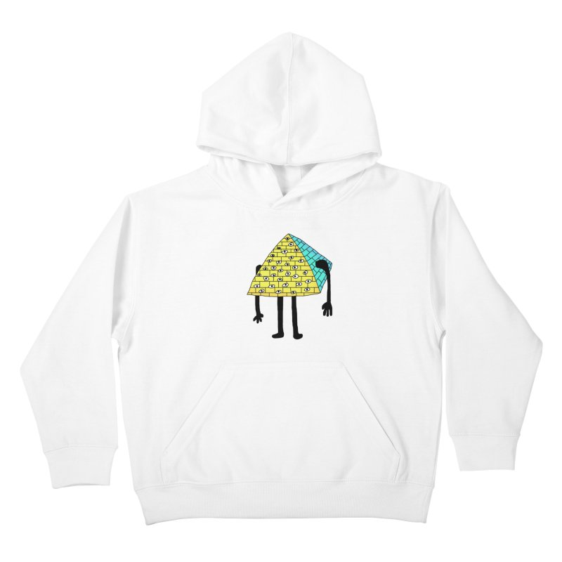 All seeing eye Kids Pullover Hoody by Camilla Barnard's Artist Shop
