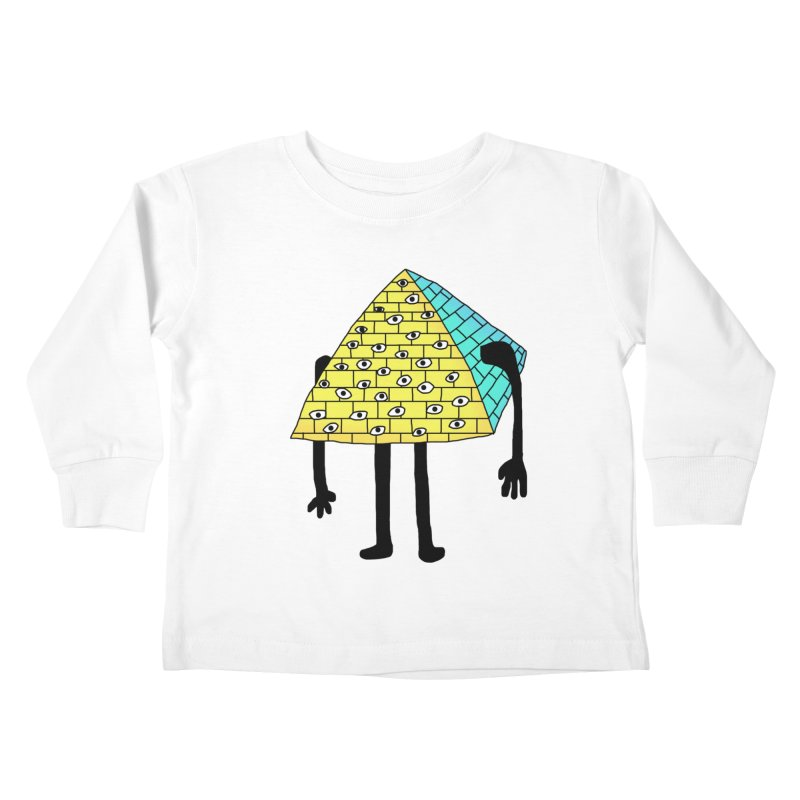 All seeing eye Kids Toddler Longsleeve T-Shirt by Camilla Barnard's Artist Shop