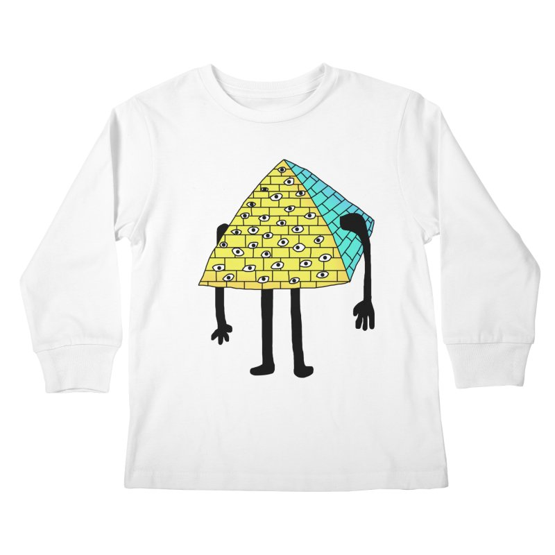 All seeing eye Kids Longsleeve T-Shirt by Camilla Barnard's Artist Shop