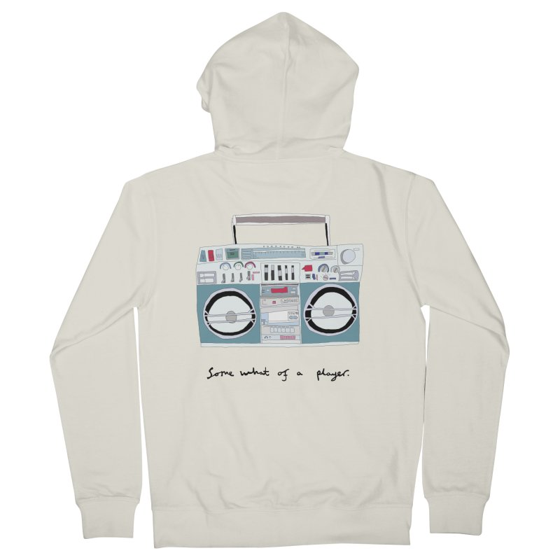 Somewhat of a player Men's Zip-Up Hoody by Camilla Barnard's Artist Shop
