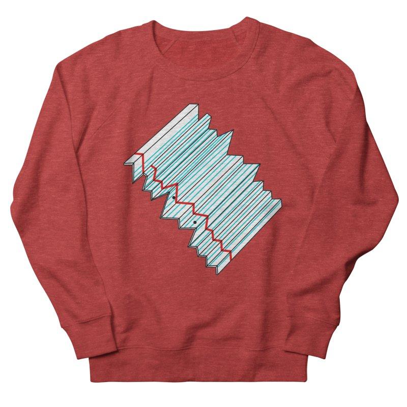 Folded lined paper Women's Sweatshirt by Camilla Barnard's Artist Shop