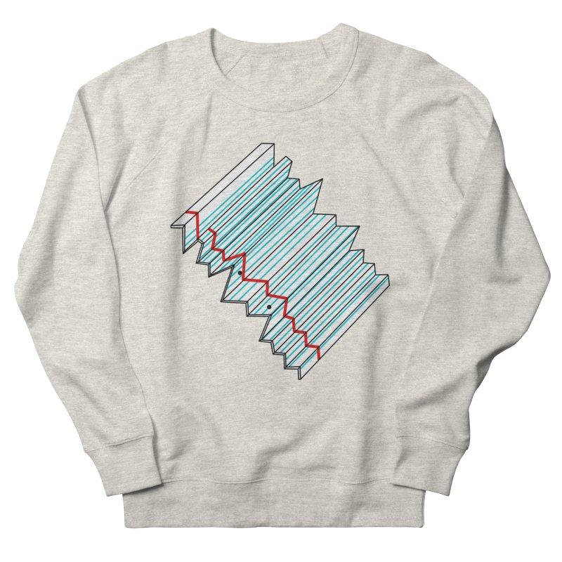 Folded lined paper Men's Sweatshirt by Camilla Barnard's Artist Shop