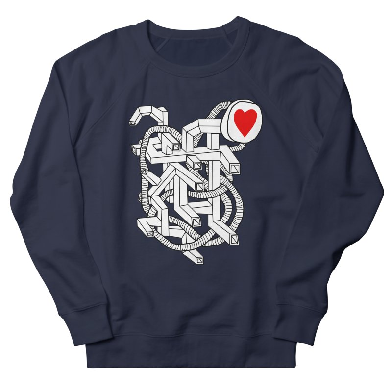 Heart Valves Women's Sweatshirt by Camilla Barnard's Artist Shop