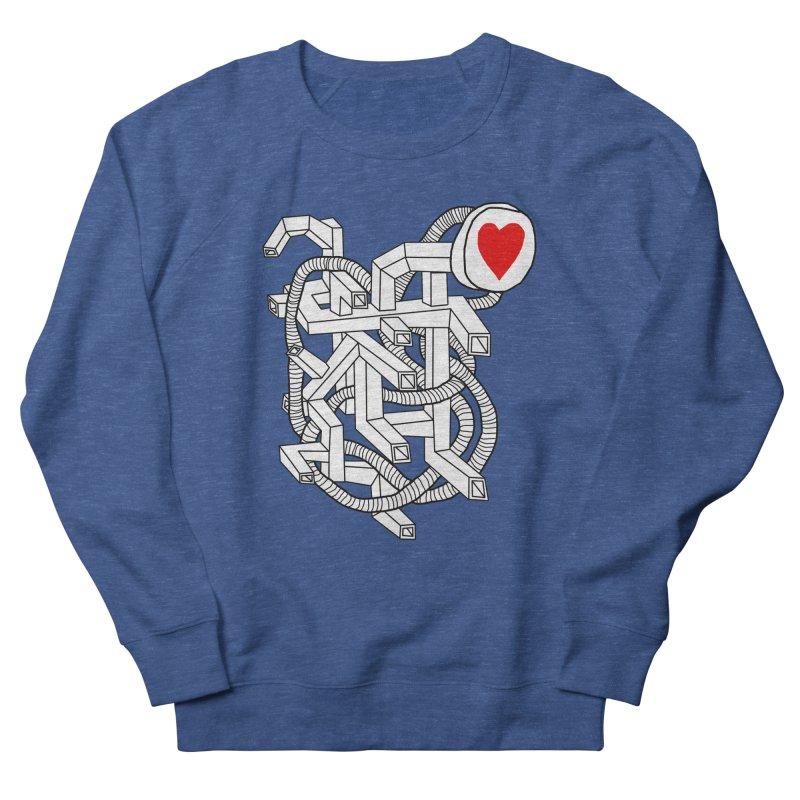 Heart Valves Men's Sweatshirt by Camilla Barnard's Artist Shop