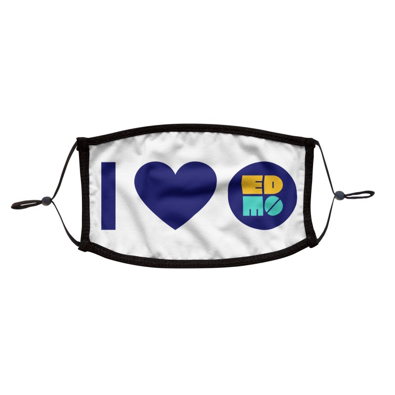 I heart EDMO Accessories Face Mask by EDMO