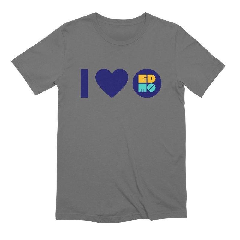 I heart EDMO Men's T-Shirt by EDMO