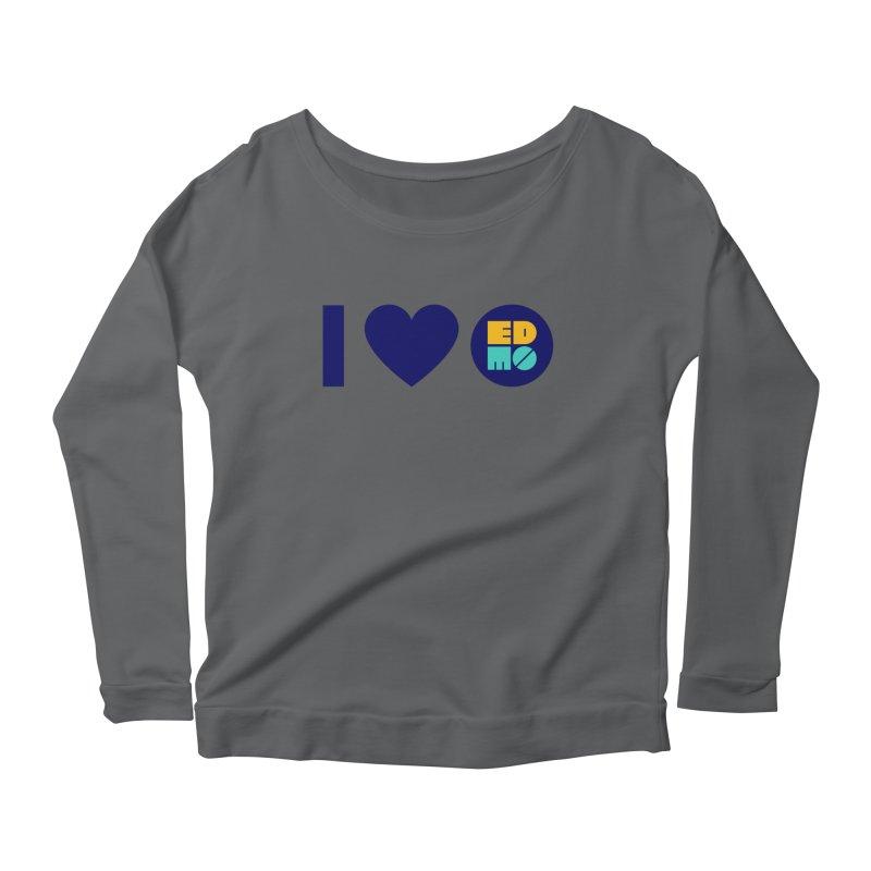 I heart EDMO Women's Longsleeve T-Shirt by EDMO