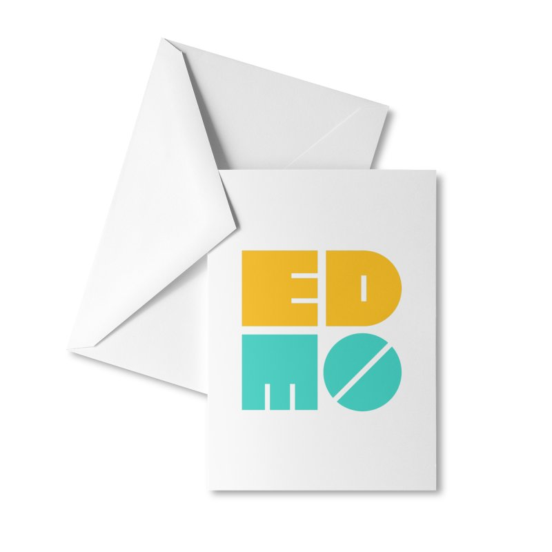 Multi Color EDMO Accessories Greeting Card by EDMO
