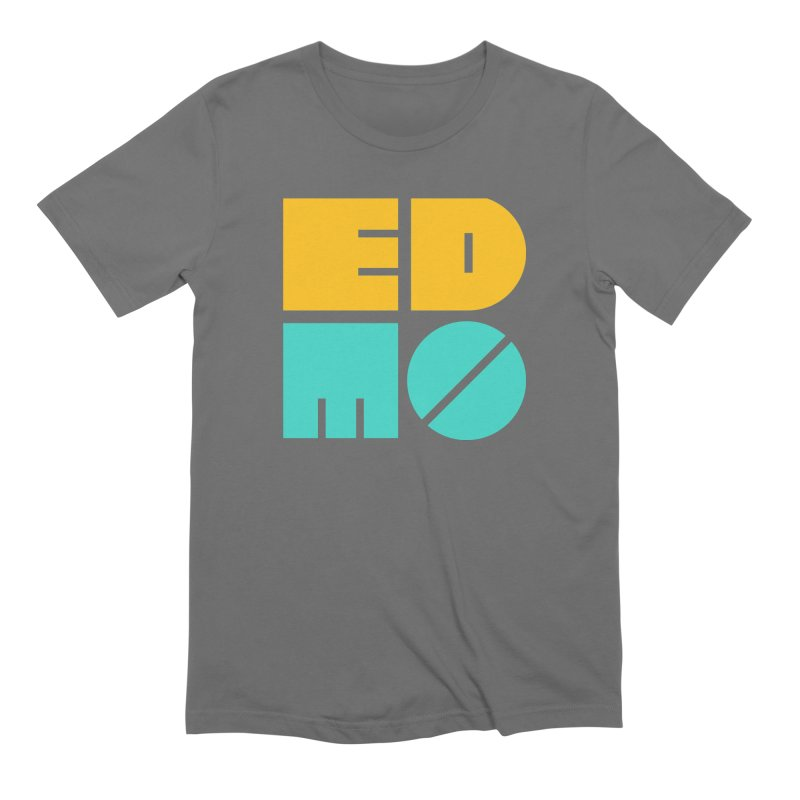 Multi Color EDMO Men's T-Shirt by EDMO
