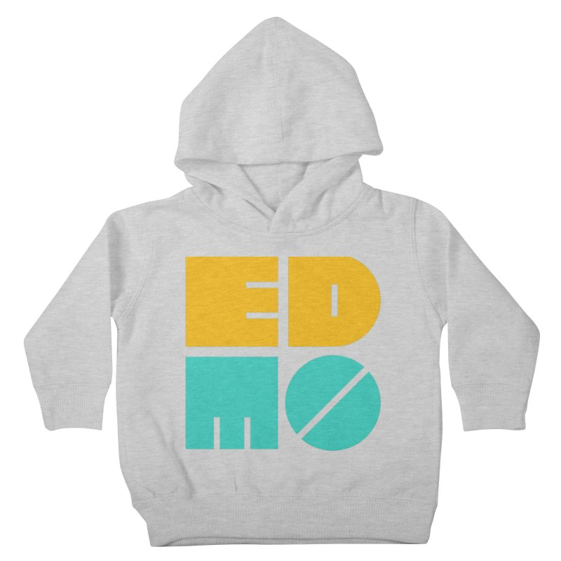 Multi Color EDMO Kids Toddler Pullover Hoody by EDMO