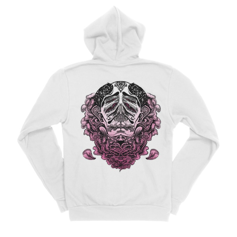 Blooming: Magenta Apparel, Fitted Zip-Up Hoody by Cannery Rat Collective