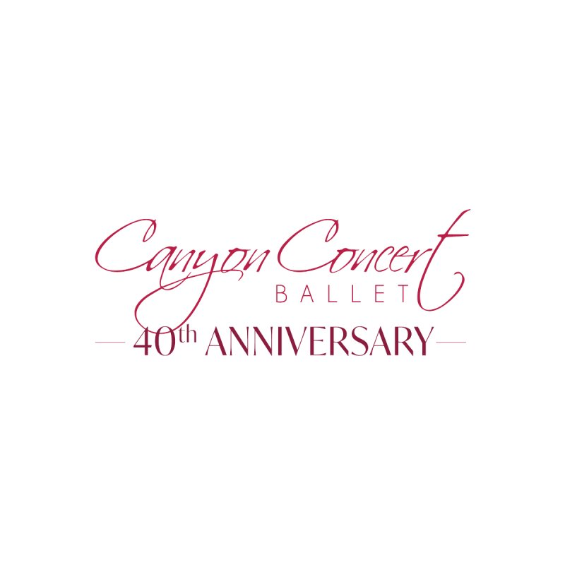 40th Anniversary Accessories Phone Case by Canyon Concert Ballet's Artist Shop
