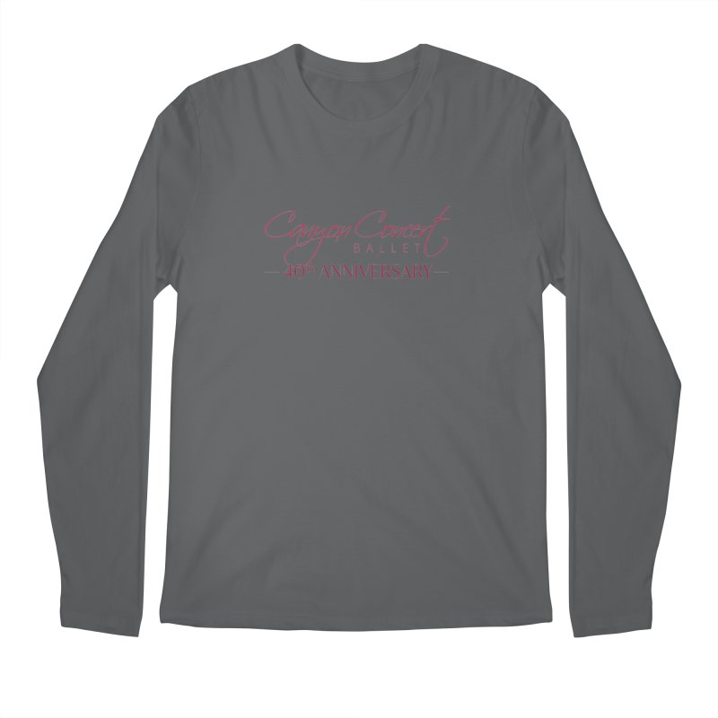 40th Anniversary Men's Longsleeve T-Shirt by Canyon Concert Ballet's Artist Shop