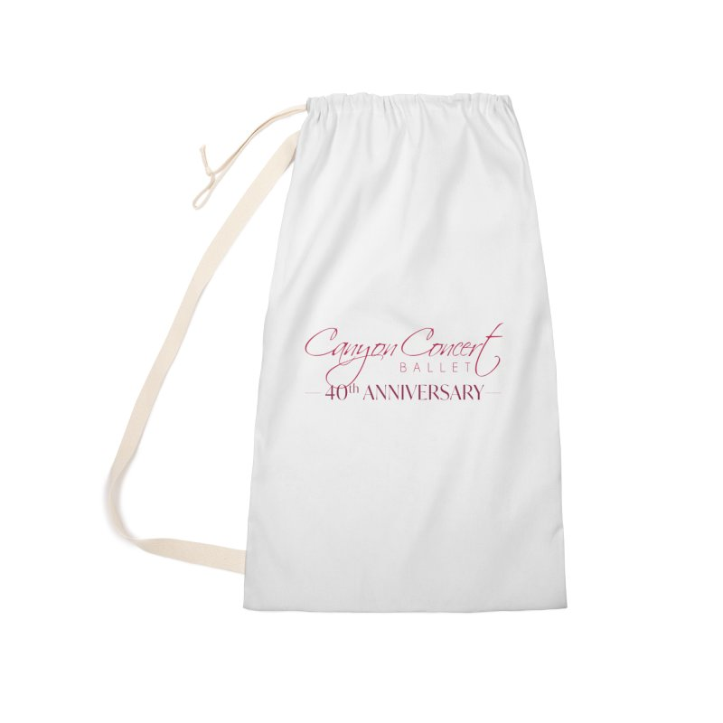 40th Anniversary Accessories Laundry Bag Bag by Canyon Concert Ballet's Artist Shop