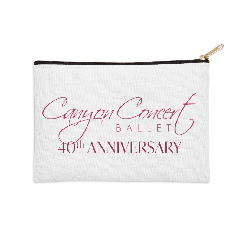 40th Anniversary Accessories Zip Pouch by Canyon Concert Ballet's Artist Shop