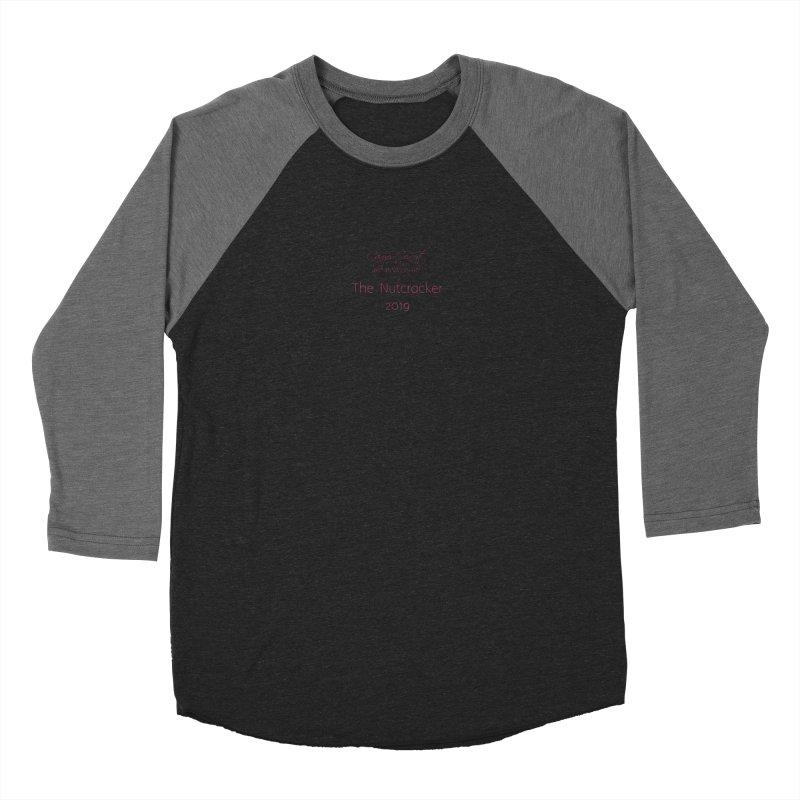 Nutcracker 2019 Men's Baseball Triblend Longsleeve T-Shirt by Canyon Concert Ballet's Artist Shop