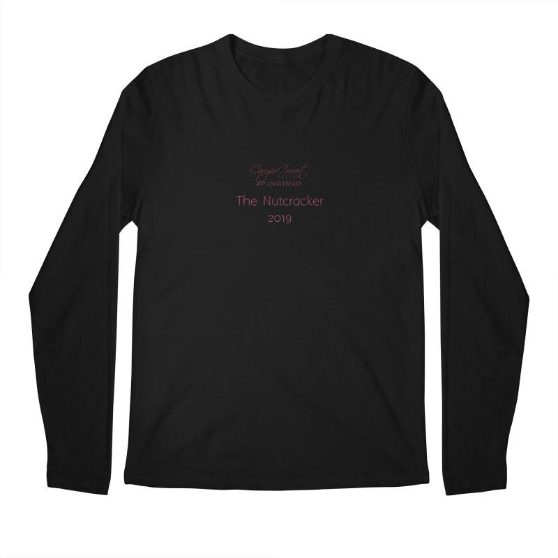 Nutcracker 2019 Men's Longsleeve T-Shirt by Canyon Concert Ballet's Artist Shop