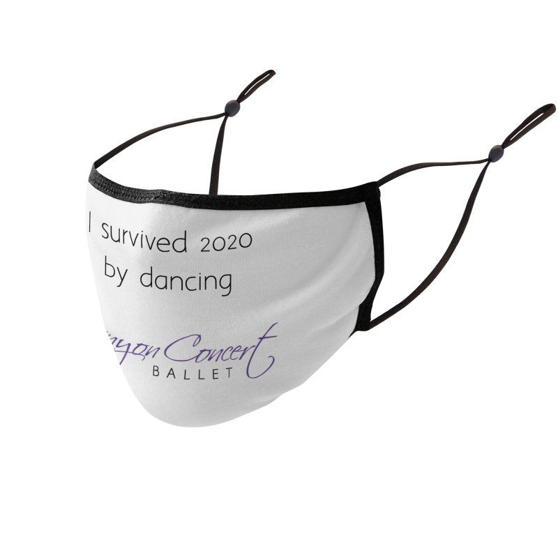 Survived 2020 Accessories Face Mask by Canyon Concert Ballet's Artist Shop