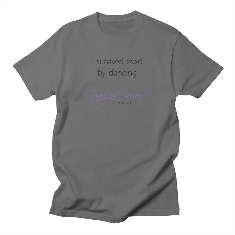 Survived 2020 Men's T-Shirt by Canyon Concert Ballet's Artist Shop