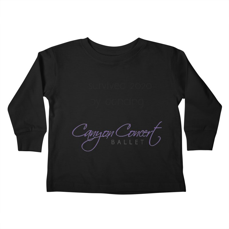 Survived 2020 Kids Toddler Longsleeve T-Shirt by Canyon Concert Ballet's Artist Shop