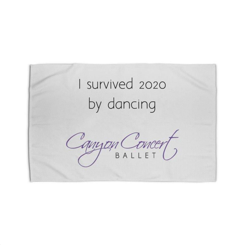 Survived 2020 Home Rug by Canyon Concert Ballet's Artist Shop