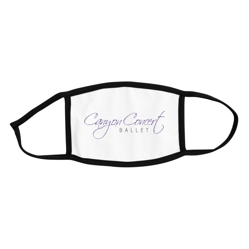 CCB Main Logo Accessories Face Mask by Canyon Concert Ballet's Artist Shop