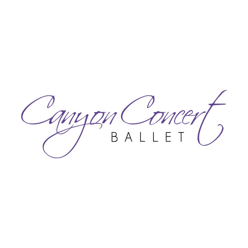 CCB Main Logo Accessories Beach Towel by Canyon Concert Ballet's Artist Shop
