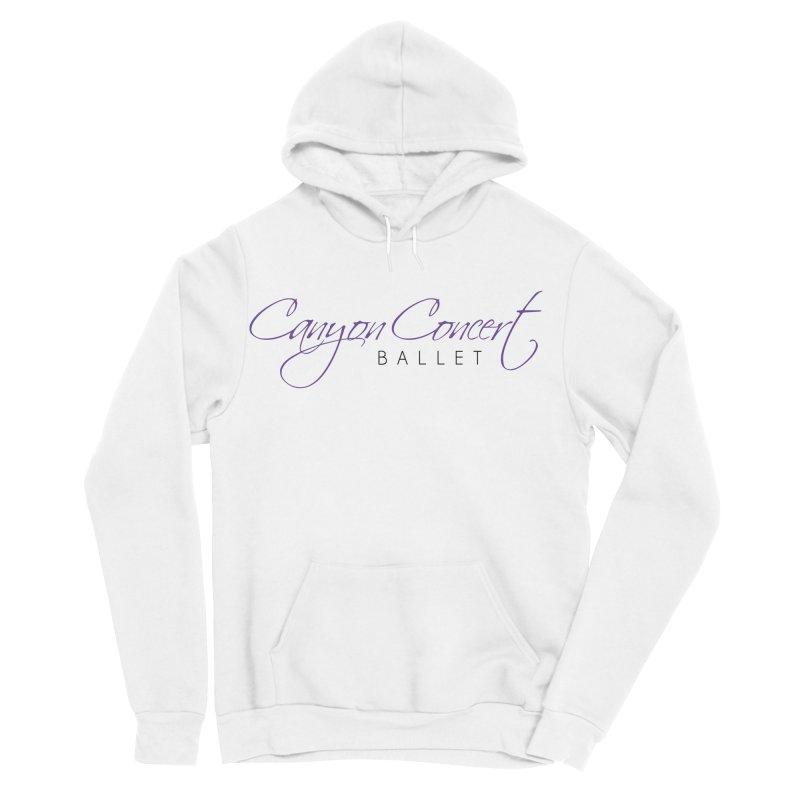 CCB Main Logo Women's Sponge Fleece Pullover Hoody by Canyon Concert Ballet's Artist Shop