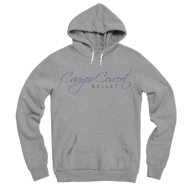 CCB Main Logo Women's Sponge Fleece Pullover Hoody by Canyon Concert Ballet's Artist Shop