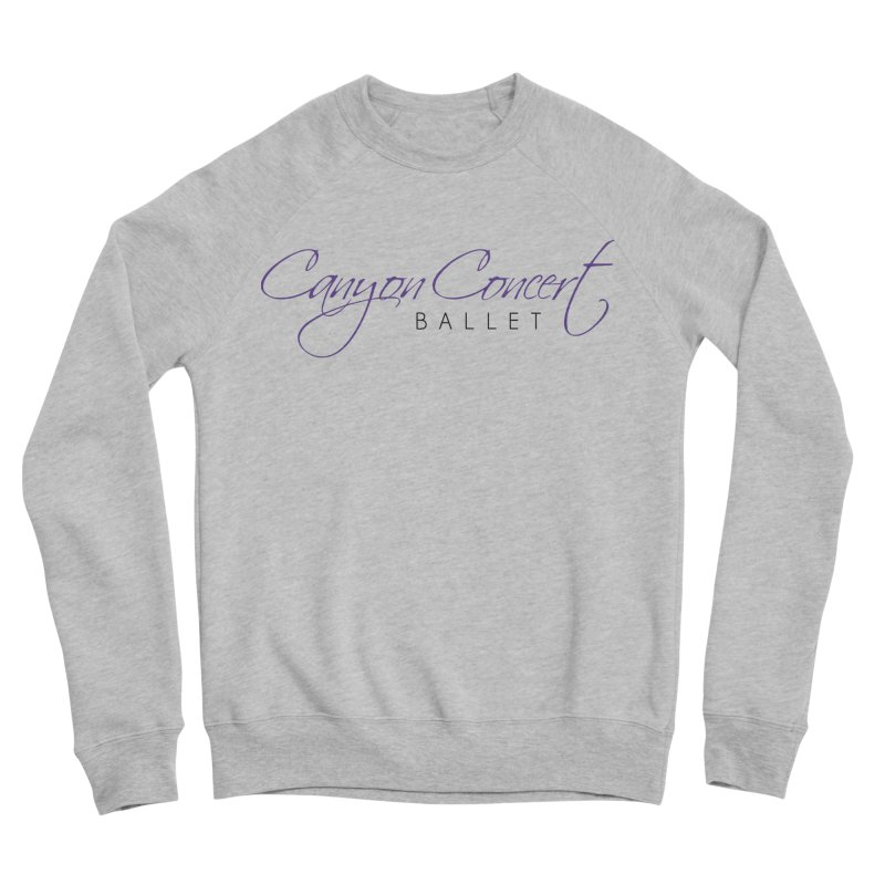 CCB Main Logo Men's Sponge Fleece Sweatshirt by Canyon Concert Ballet's Artist Shop