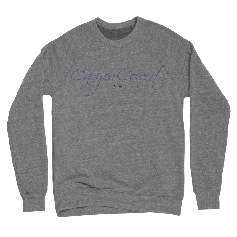 CCB Main Logo Men's Sweatshirt by Canyon Concert Ballet's Artist Shop
