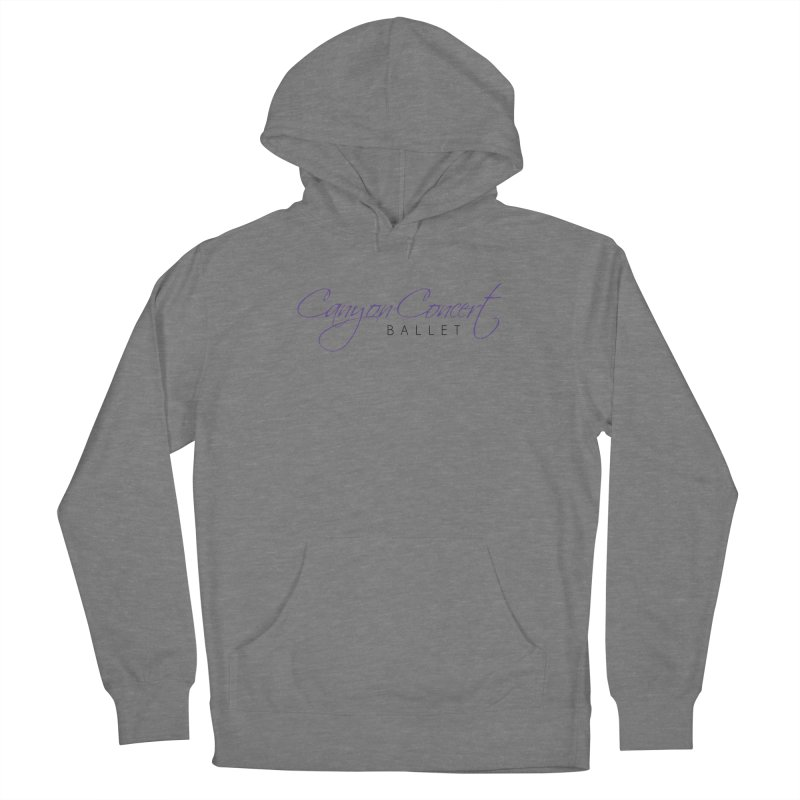 CCB Main Logo Men's Pullover Hoody by Canyon Concert Ballet's Artist Shop