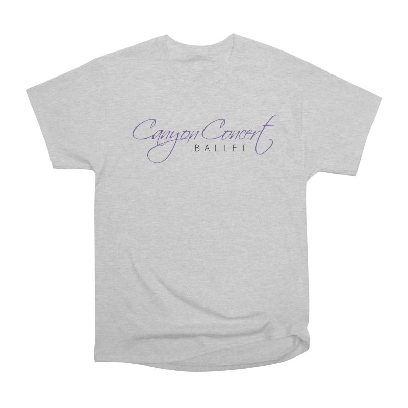 CCB Main Logo Women's Heavyweight Unisex T-Shirt by Canyon Concert Ballet's Artist Shop