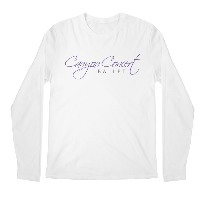 CCB Main Logo Men's Regular Longsleeve T-Shirt by CanyonConcertBallet's Artist Shop