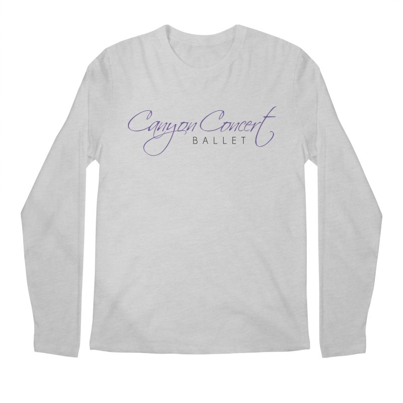 CCB Main Logo Men's Longsleeve T-Shirt by Canyon Concert Ballet's Artist Shop