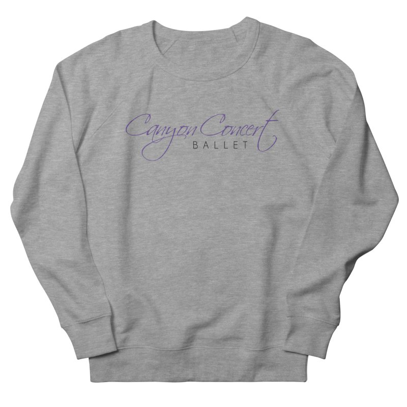 CCB Main Logo Women's French Terry Sweatshirt by Canyon Concert Ballet's Artist Shop