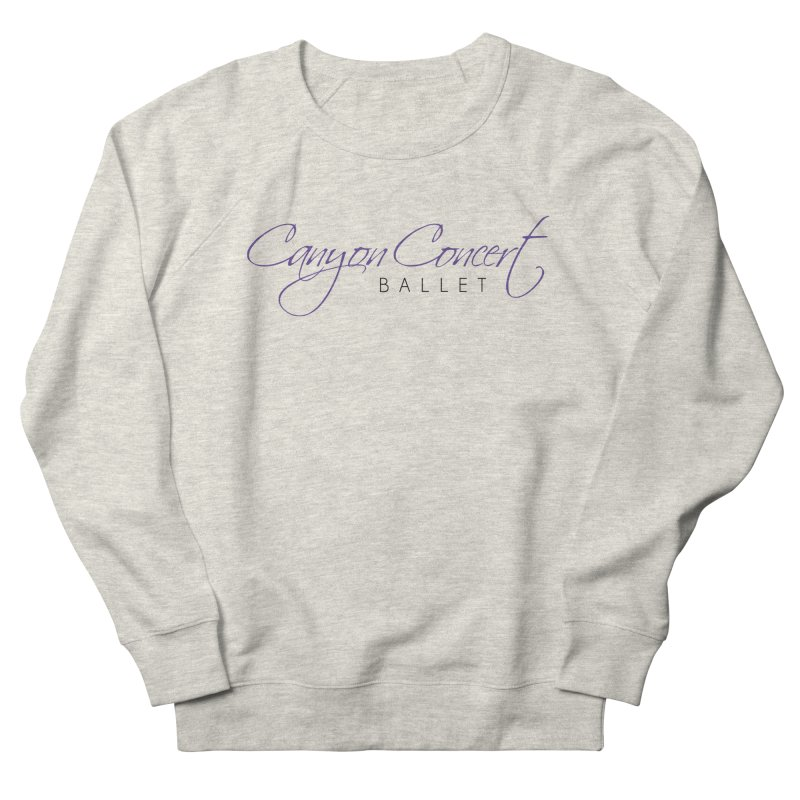 CCB Main Logo Men's French Terry Sweatshirt by Canyon Concert Ballet's Artist Shop