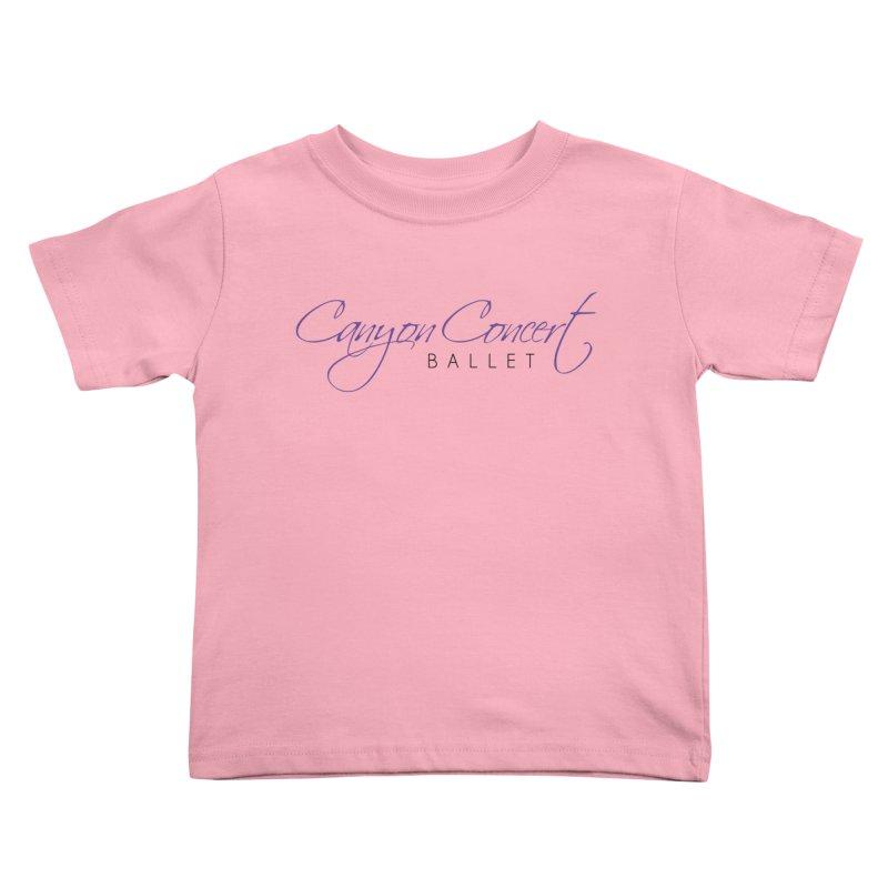 CCB Main Logo Kids Toddler T-Shirt by Canyon Concert Ballet's Artist Shop