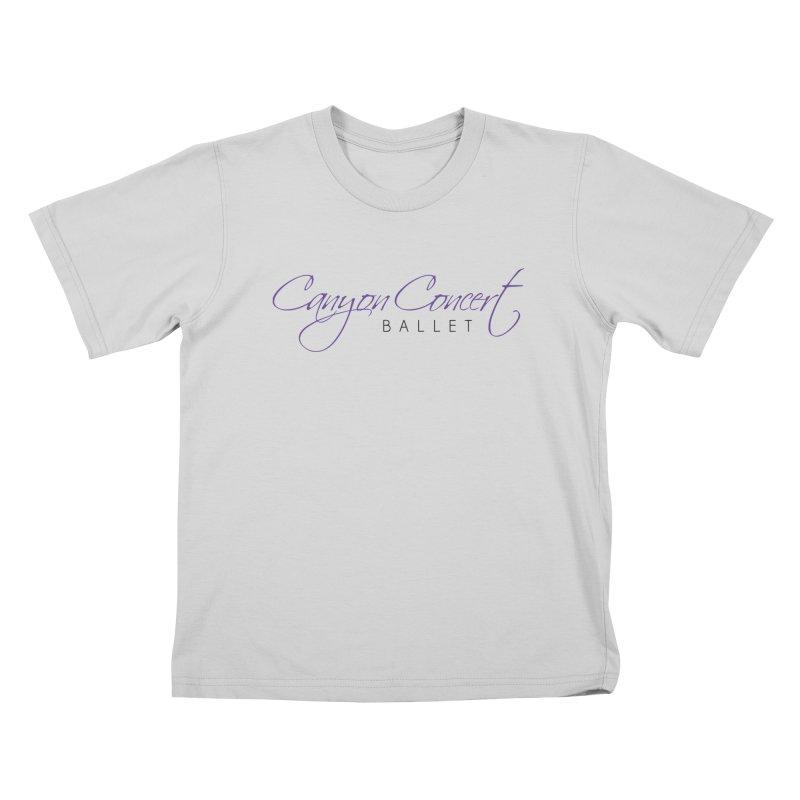CCB Main Logo Kids T-Shirt by CanyonConcertBallet's Artist Shop