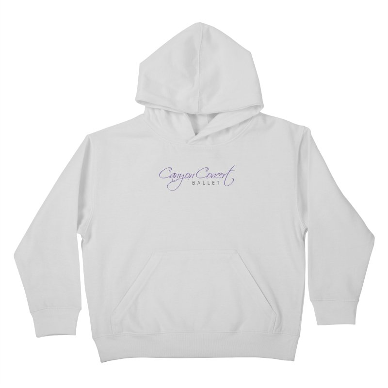 CCB Main Logo Kids Pullover Hoody by Canyon Concert Ballet's Artist Shop