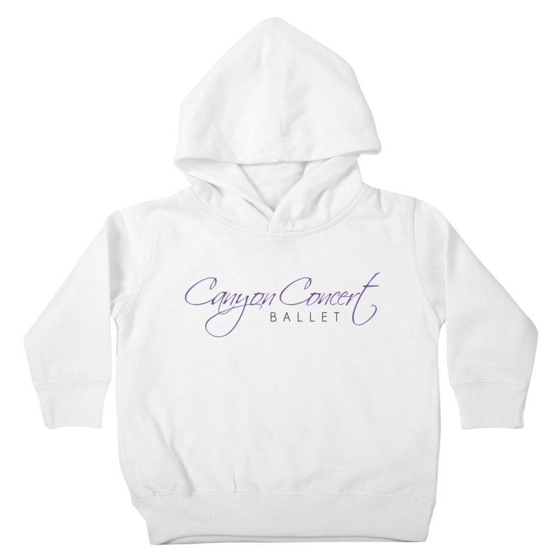 CCB Main Logo Kids Toddler Pullover Hoody by Canyon Concert Ballet's Artist Shop