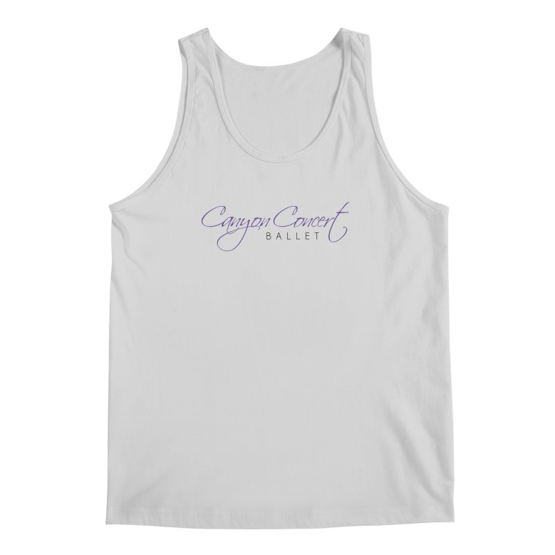 CCB Main Logo Men's Regular Tank by Canyon Concert Ballet's Artist Shop