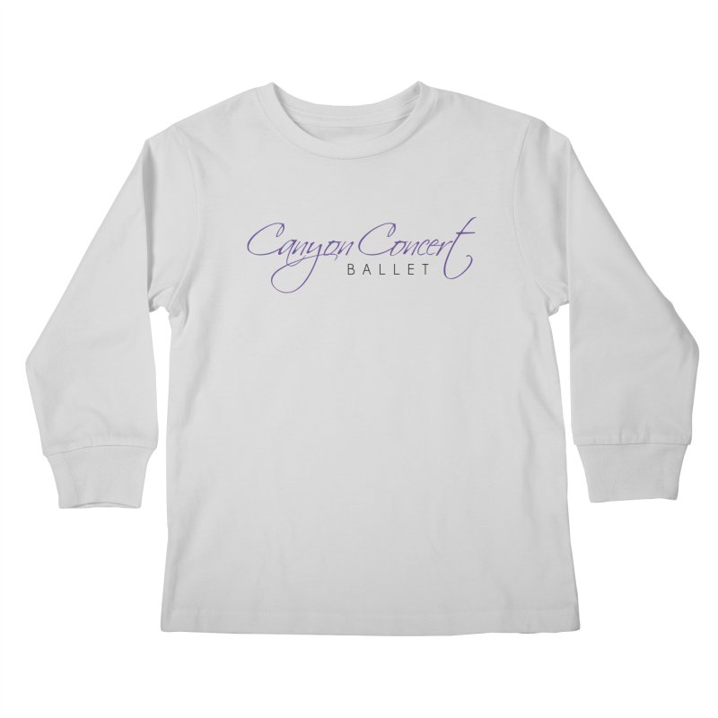 CCB Main Logo Kids Longsleeve T-Shirt by Canyon Concert Ballet's Artist Shop
