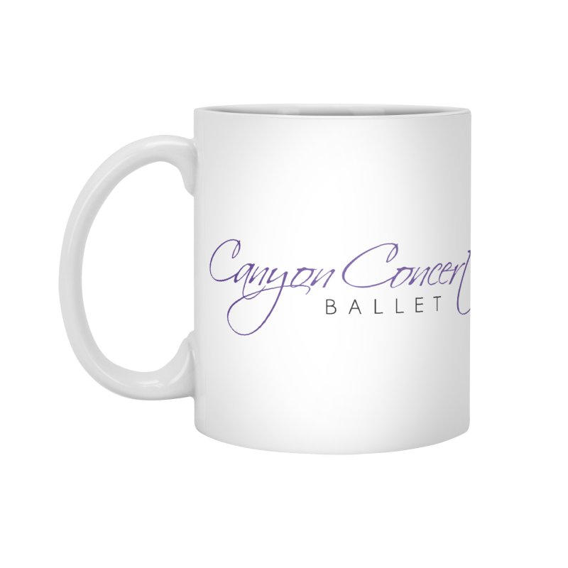 CCB Main Logo Accessories Standard Mug by Canyon Concert Ballet's Artist Shop